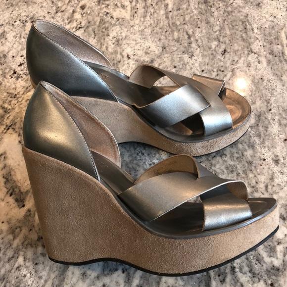 7199b1a32f5f Kork-Ease Shoes - Kork-Ease leather platform wedges